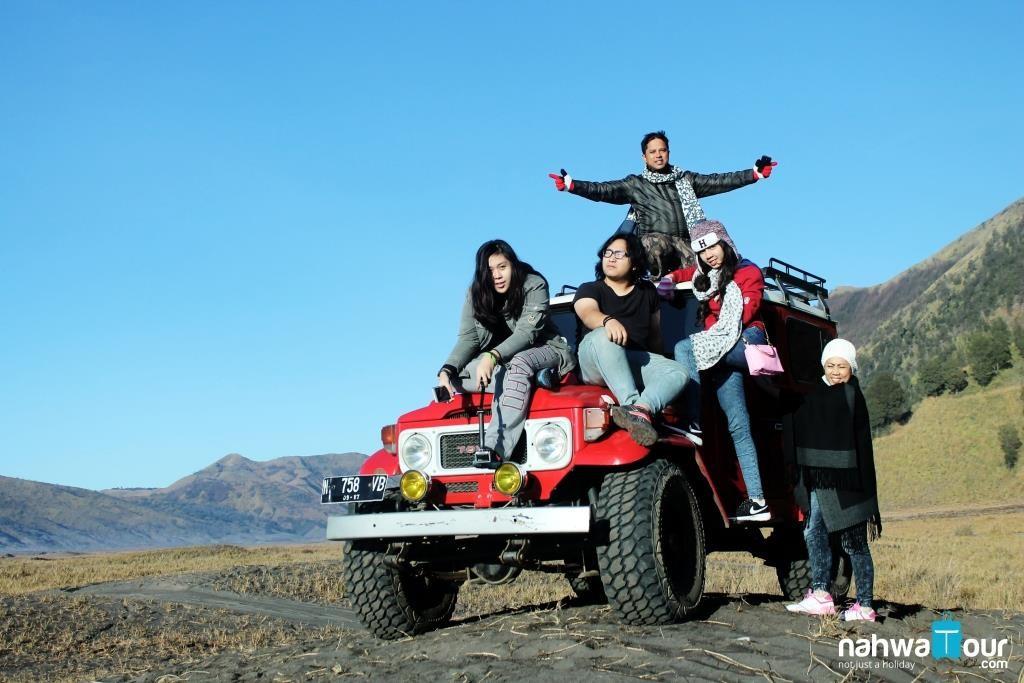 Sewa Jeep Dari Batu