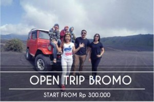 paket open trip bromo midnight