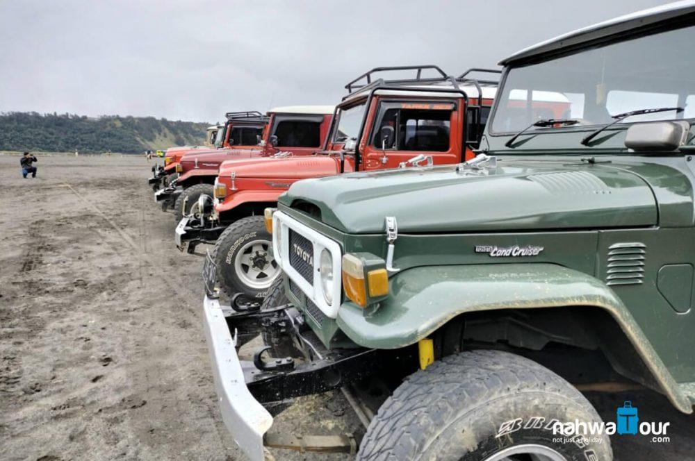 sewa jeep bromo terpercaya